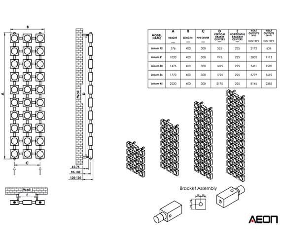 Technical drawing QS-V96229 / LOK12-S