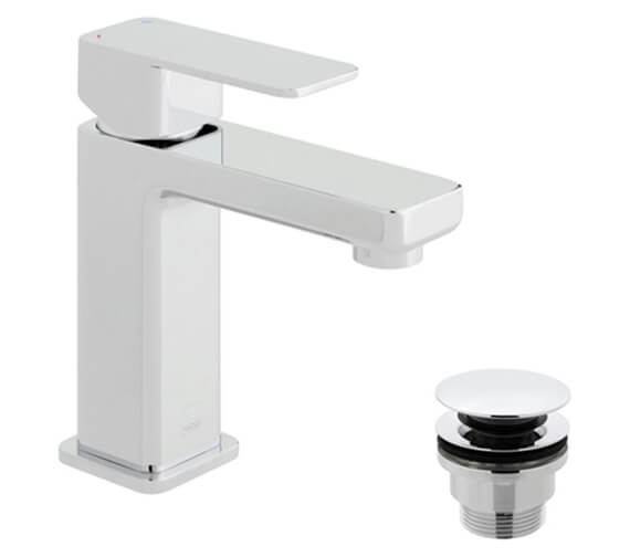 Alternate image of Vado Phase Deck Mounted Single Lever Basin Mixer Tap