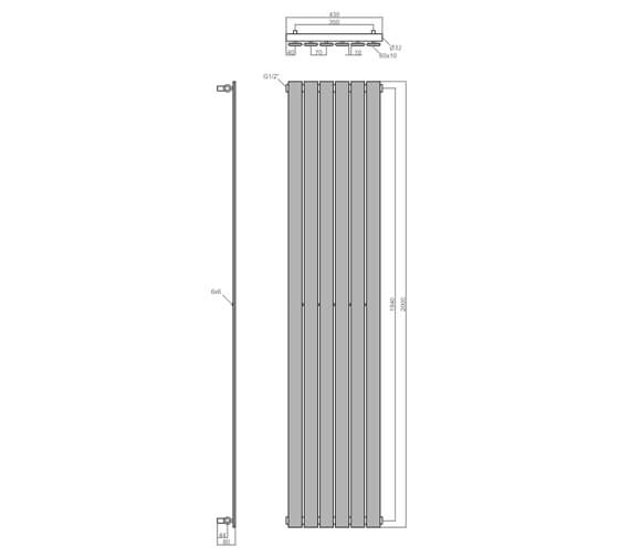 Technical drawing QS-V98553 / LMNRALTOA