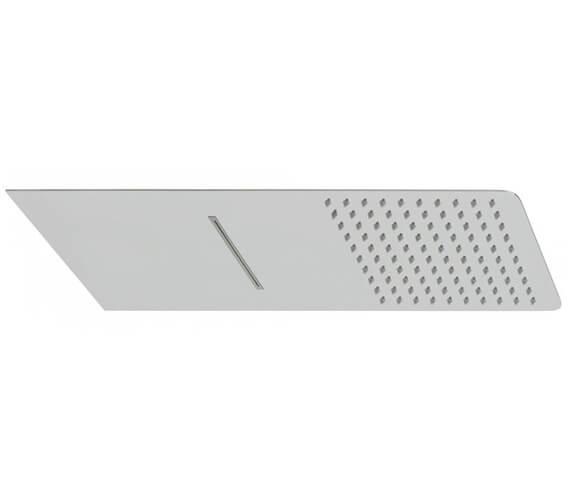Vado Aquablade Wall Mounted Slimline Rectangular Shower Head