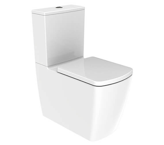 IMEX Ravine Closed Back 620mm Short Projection Rimless WC With Cistern