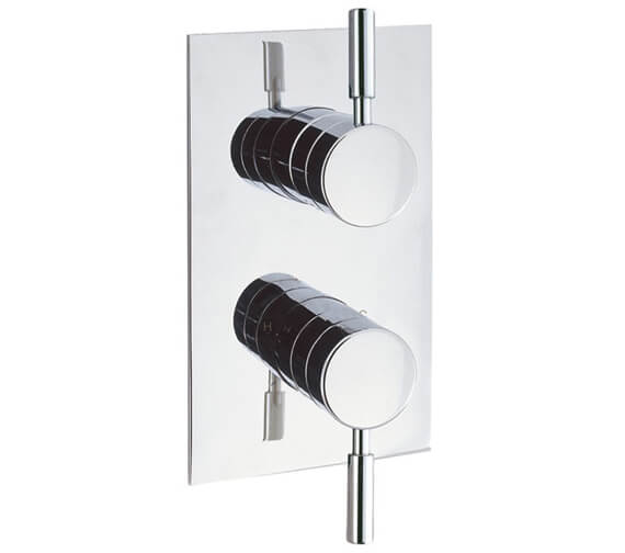 Crosswater Design Recessed Thermostatic Shower Valve With 2 Way Diverter