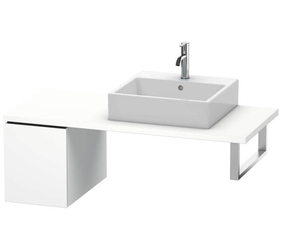 Duravit L-Cube 1 Pull-Out Compartment Floor Cabinet For Console
