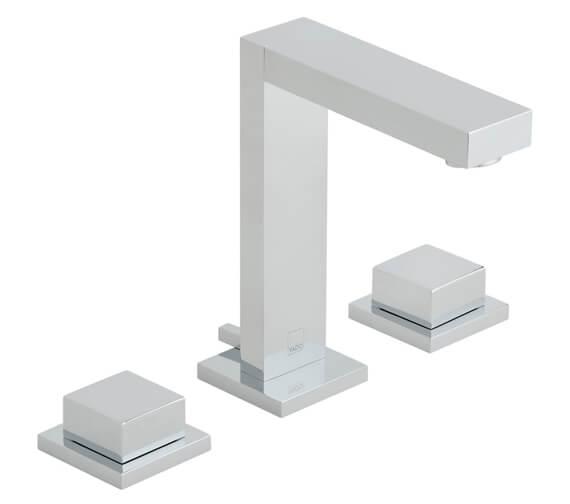 Vado Notion Deck Mounted 3 Hole Basin Mixer Tap