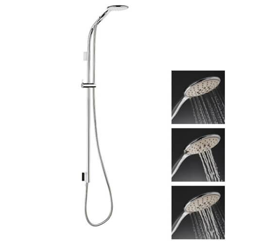 Additional image of Crosswater Svelte Premium Single Function Shower Kit