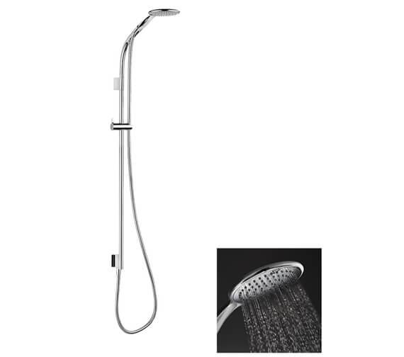 Crosswater Svelte Premium Shower Kit With Single Function Handset