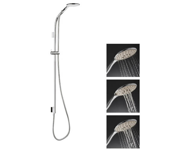 Alternate image of Crosswater Svelte Premium Shower Kit With Single Function Handset