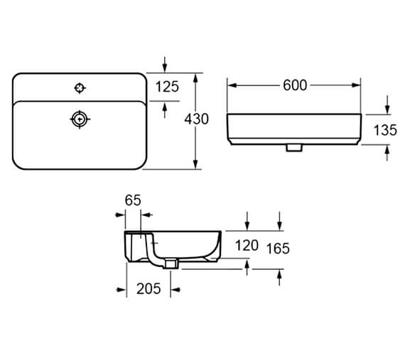 Technical drawing QS-V89598 / LW1823