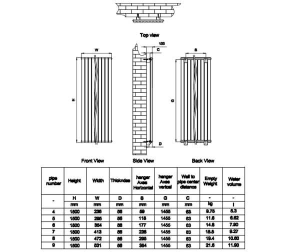 Technical drawing QS-V20772 / RND-NV2315W