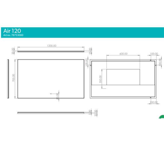 Technical drawing QS-V103372 / 78730000