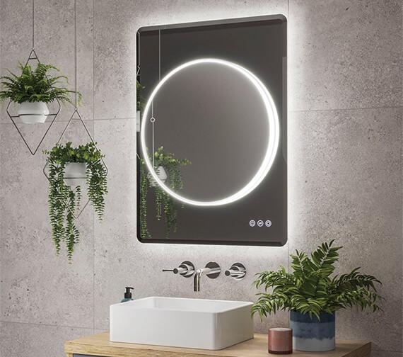 HIB Frontier 60 LED Illuminated Mirror