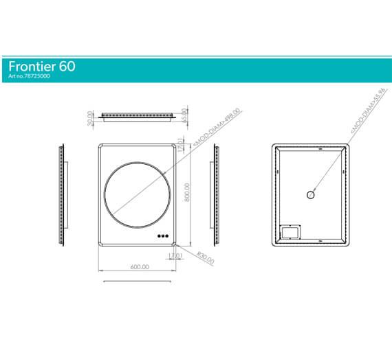 Technical drawing QS-V103485 / 78725000