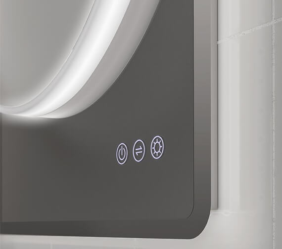 Additional image of HIB Frontier 60 LED Illuminated Mirror