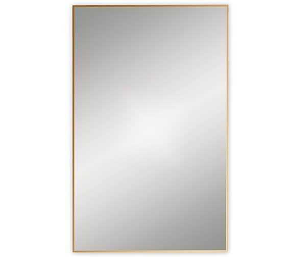Additional image of Bathroom Origins Docklands Rectangular Framed Mirror