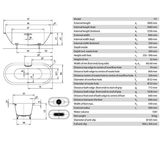 Technical drawing QS-V21632 / 291200010001