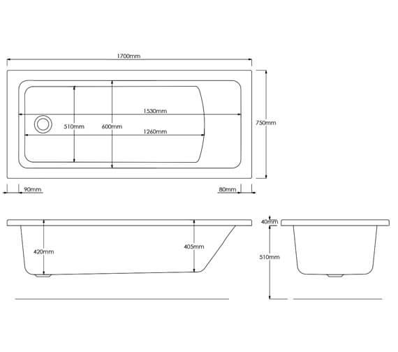 Technical drawing QS-V16773 / EB512