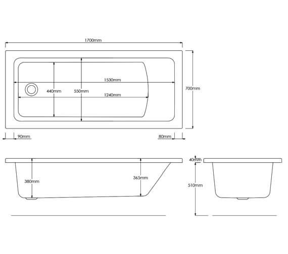 Technical drawing QS-V16775 / EB514