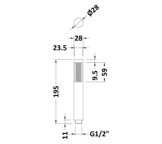 Technical drawing QS-V98557 / PK330