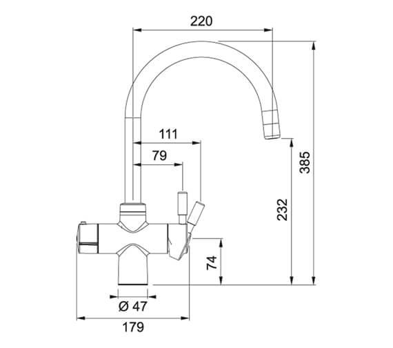Technical drawing QS-V105023 / 119.0505.835