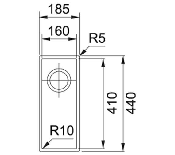 Technical drawing QS-V84113 / 125.0252.233
