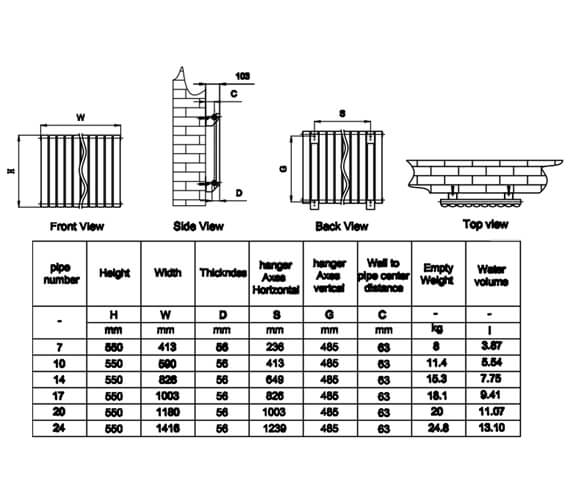 Technical drawing QS-V20767 / RND-HNV7D