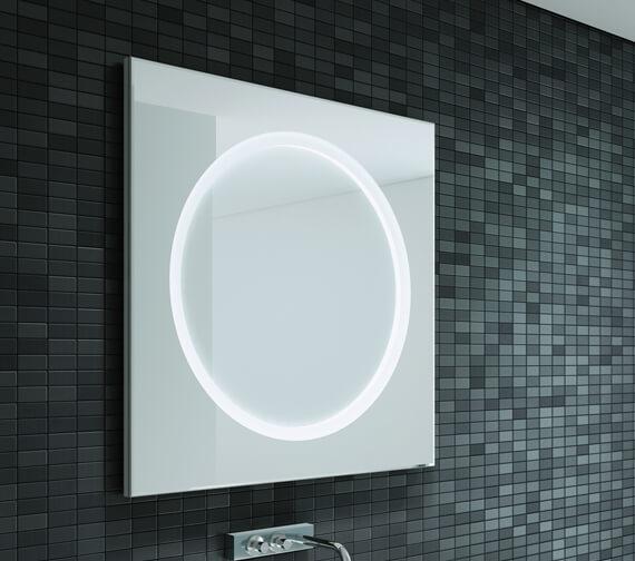 Bathroom Origins Solar Backlit LED Mirror - B004655