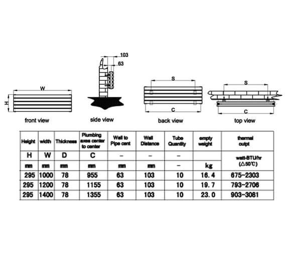 Technical drawing QS-V95302 / RND-NVH210DW