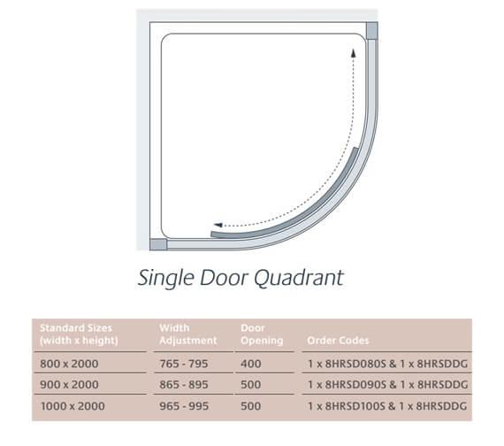 Technical drawing QS-V86221 / 8HRSD080S + 8HRSDDG