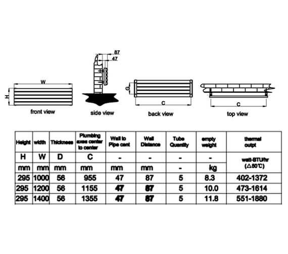 Technical drawing QS-V95300 / RND-NVH210SW