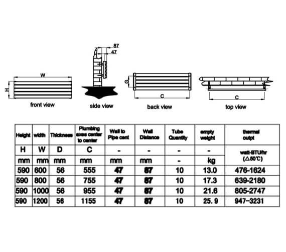 Technical drawing QS-V95301 / RND-NVH506SW