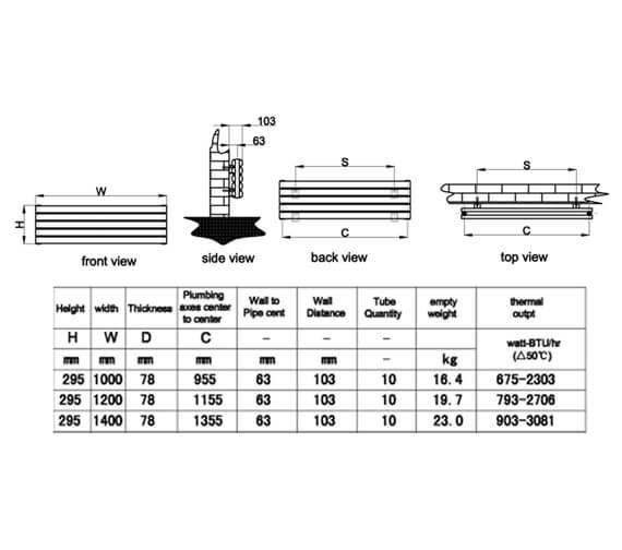 Technical drawing QS-V95303 / RND-NVH506DW