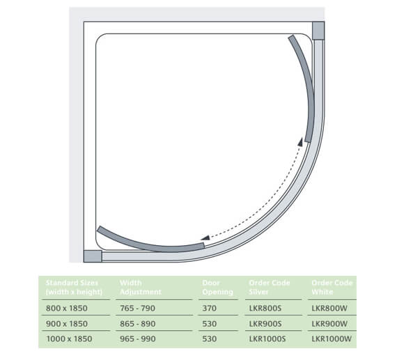 Technical drawing QS-V73134 / LKR800S