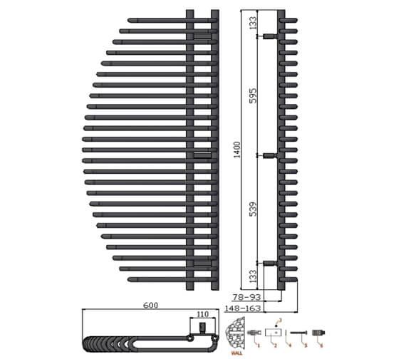 Technical drawing QS-V20724 / RND-NL6140
