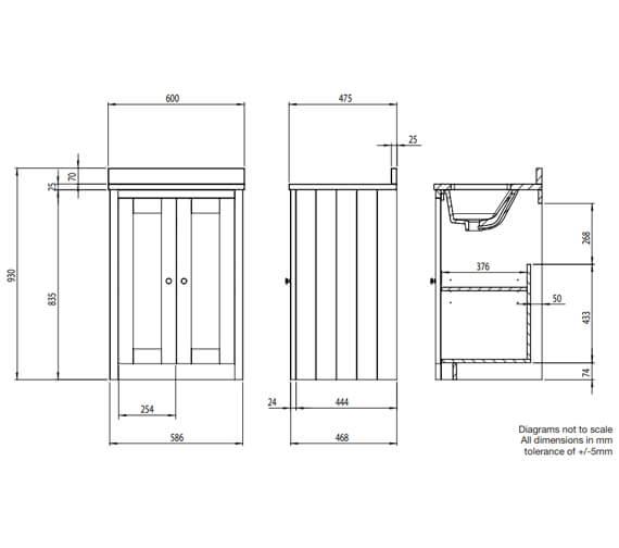 Technical drawing QS-V104339 / LAN600US.LW