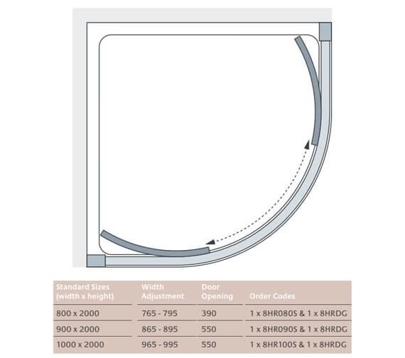 Technical drawing QS-V86246 / 8HR080S + 8HRDG