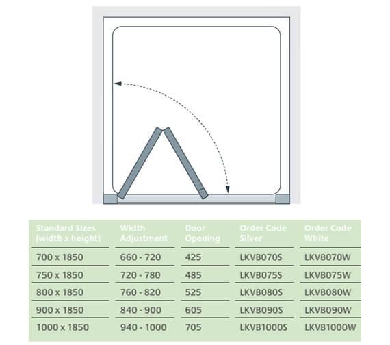 Technical drawing QS-V25077 / LKVB070S