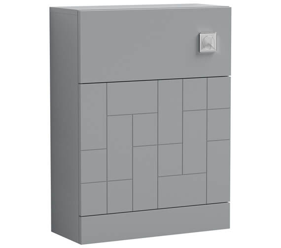 Additional image of Nuie Blocks 600 x 253mm Floor-Standing Back To WC Unit