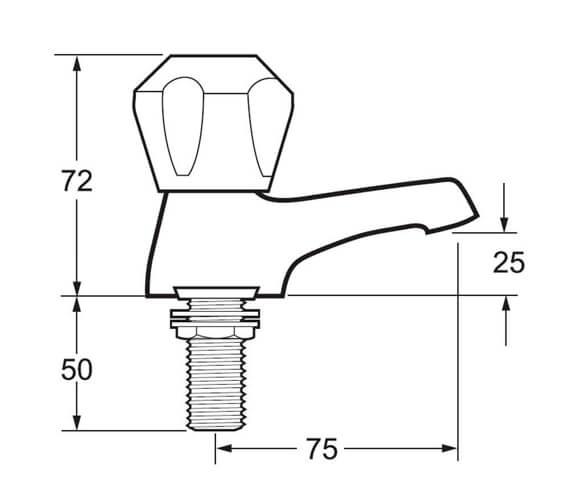 Technical drawing QS-V43276 / DCM102