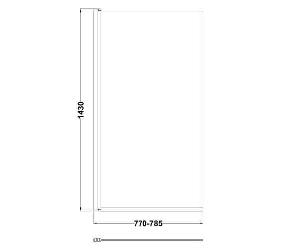 Technical drawing QS-V98559 / NSS6BP