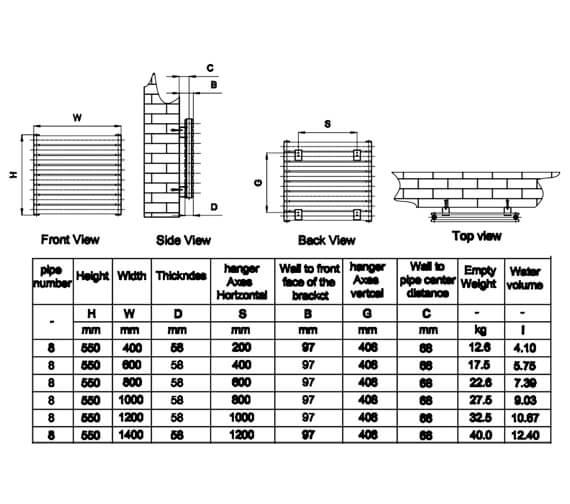 Technical drawing QS-V20795 / RND-RNE400D