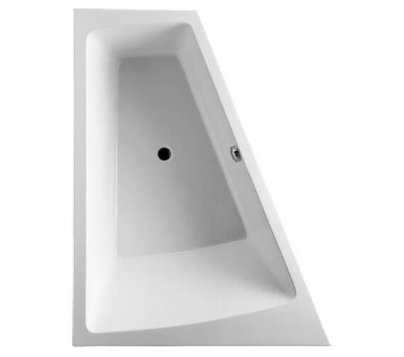 Duravit Paiova 1800 x 1400mm Built In Bath With Frame