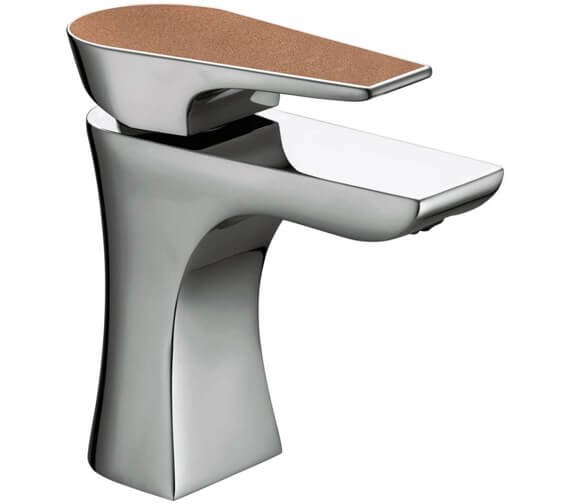 Bristan Metallix Hourglass Basin Mixer Tap with Clicker Waste