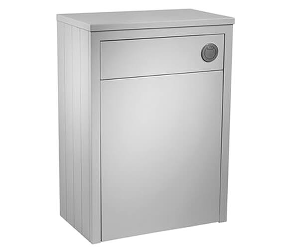 Additional image of Tavistock Lansdown Contemporary Back To Wall WC Unit 600mm Linen White