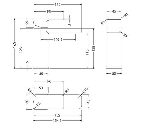 Technical drawing QS-V93992 / WIN315