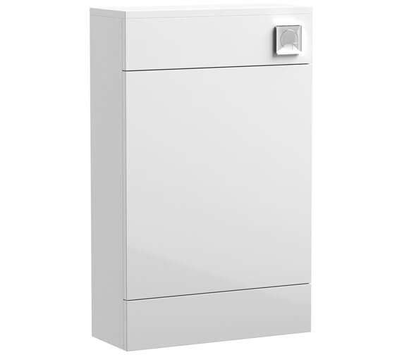 Nuie Eden 500mm Gloss White Back-To-Wall WC Furniture Unit