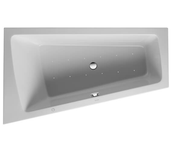 Duravit Paiova Built In Bath With One Backrest Slope