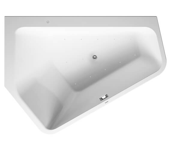 Duravit Paiova 5 Corner Bath With Panel And Support Frame