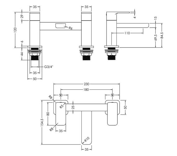 Technical drawing QS-V93996 / WIN303