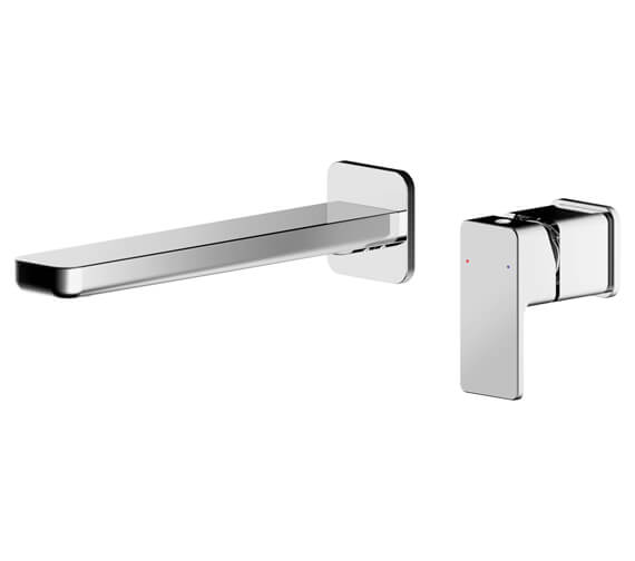 Nuie Windon Wall Mounted Basin Mixer Tap