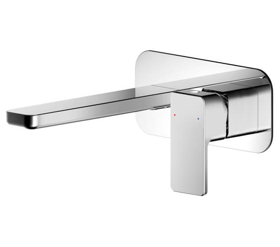 Additional image of Nuie Windon Wall Mounted Basin Mixer Tap